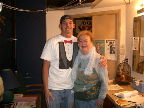 Andy and Grandma